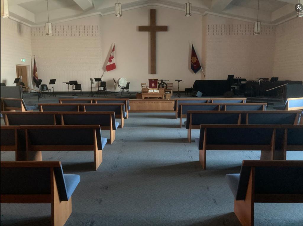 Socially distanced Sanctuary Photo